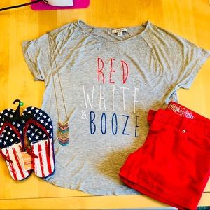Shirt, shorts, AND flip flops for LABOR DAY SALE!